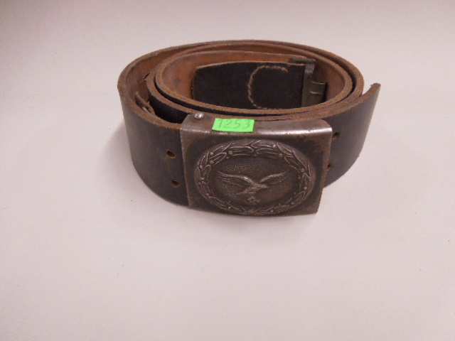 WW II German Luftwaffe Belt & Buckle