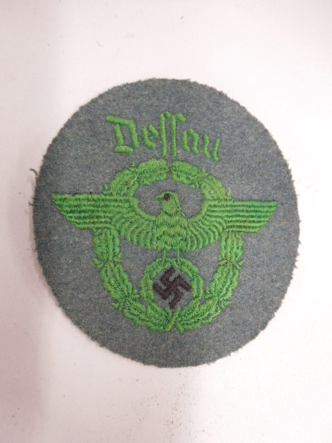 German Nazi Military Police Patch