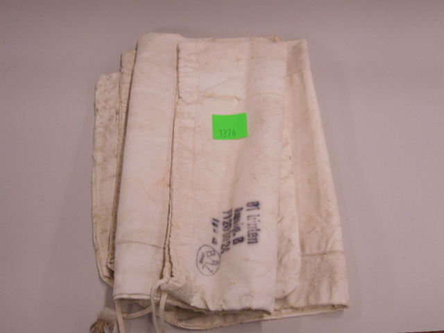 2 German Naval WW II Day Pouches