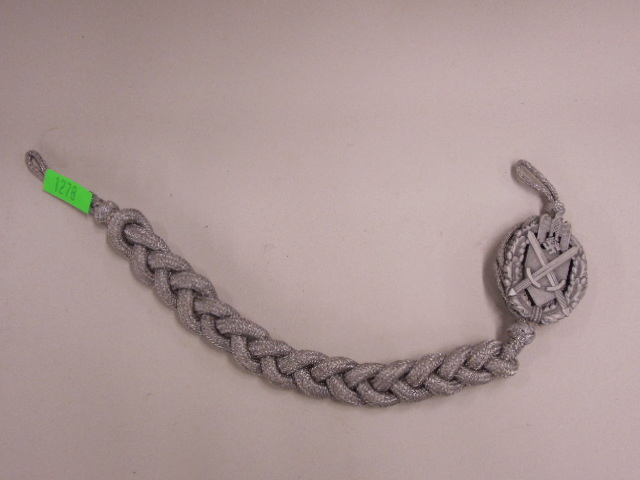 WW II German Nazi Army Shooting Lanyard