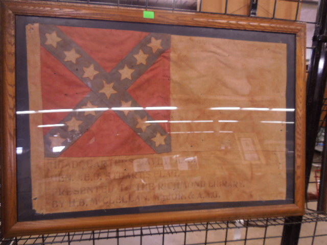 Gen. J.E.B. Stuart Headquarters Flag