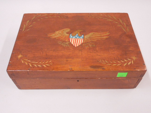 Joshua L. Chamberlain Lap Top Box Deck