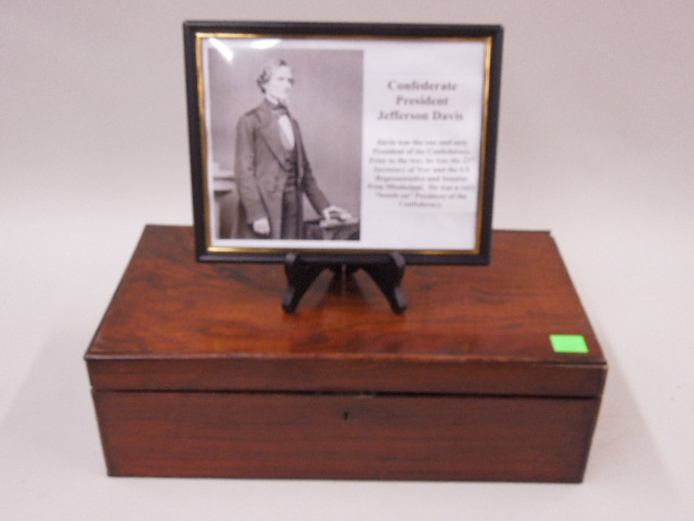 Lap Desk Accredited to Jefferson Davis