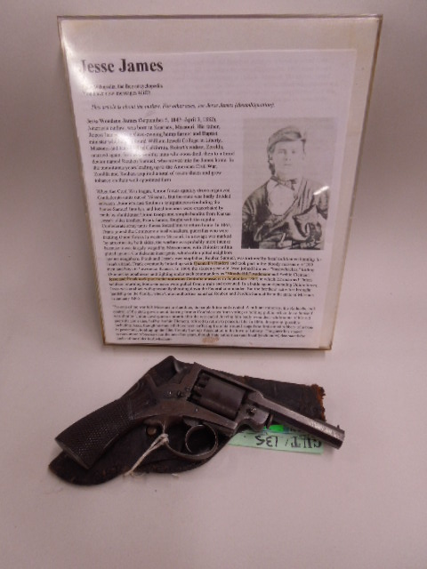 Frank James Personal Smith & Wesson Revolver
