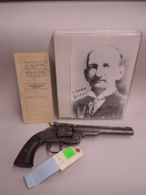 Jesse James Personal Adams Revolver & Holster