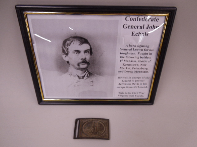 Brigadier General John Echols Belt Buckle