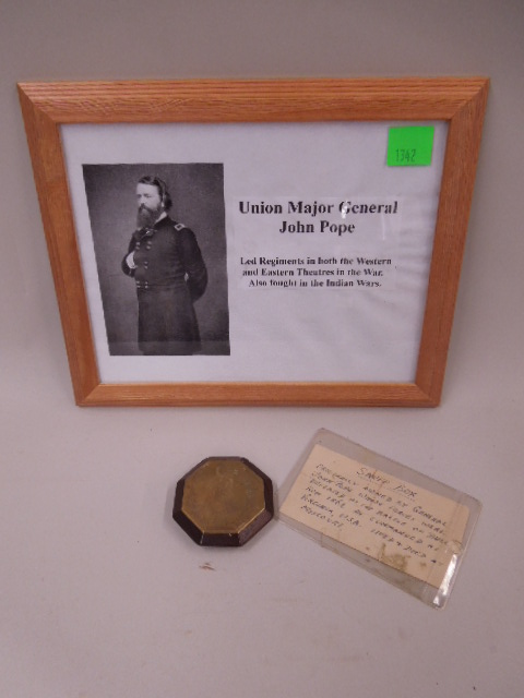 General John Pope's Personal Snuff Box