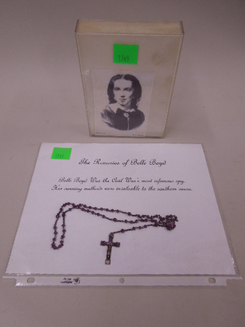 Confederate Spy Belle Boyd's Personal Rosaries