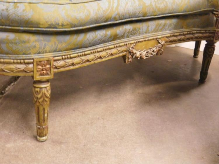 Louis xvi style chaise lounge for Chaise louis xvi
