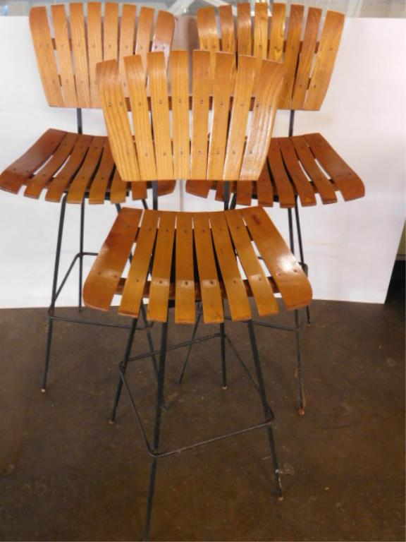 3 Mid Century Modern Bar Stools : H1285 L127858640 from www.invaluable.co.uk size 576 x 768 jpeg 46kB