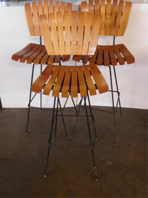 3 Mid Century Modern Bar Stools : H1285 L127858647 from www.invaluable.co.uk size 576 x 768 jpeg 42kB