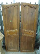 Pair Louis XV Armoire Doors
