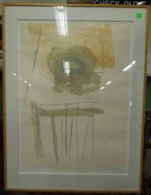 Robert Motherwell, Lithograph,