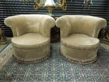 Pr Decorator Club Chairs