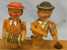 Carved Musician Mechanical Bottle Stoppers