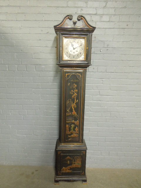 Rockford Japanned Grandmother 39 S Clock