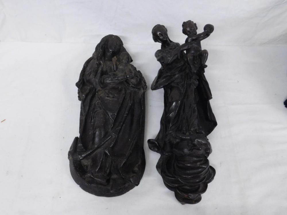 2 Religious Wall Sculptures