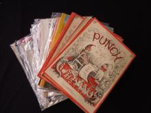 Vintage Punch & New Yorker Magazines