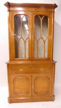 Continental Bookcase/Secretary
