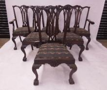 6 Centennial Chippendale DR Chairs