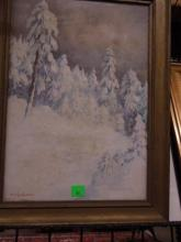 M. Schachowskoy Oil Painting