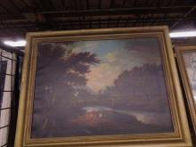 English Victorian Oil Painting