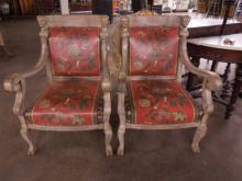 Classical Style Arm Chairs