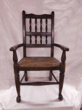 Wm & Mary Style Child's Arm Chair