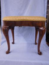 Southwood Queen Anne-Style Mahogany Stool