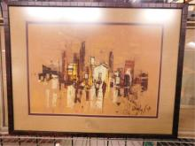 Shaul Ohaly Signed Painting