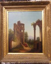 Unsigned Continental Oil Painting