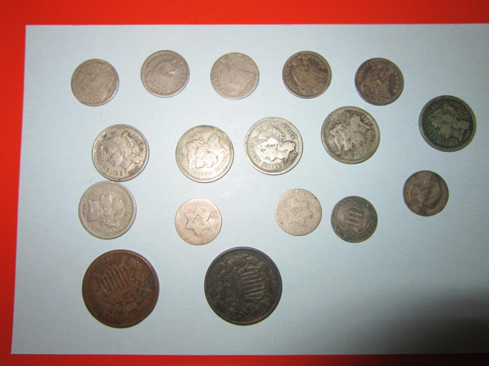 17 Early US Coins