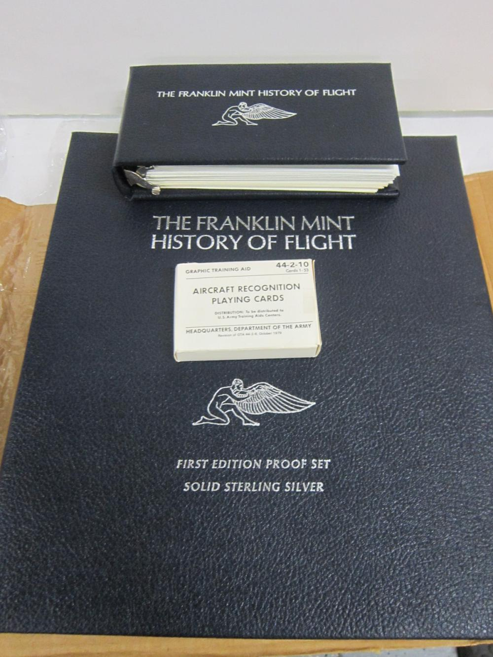 Franklin Mint History of Flight-100 Sterling Coins