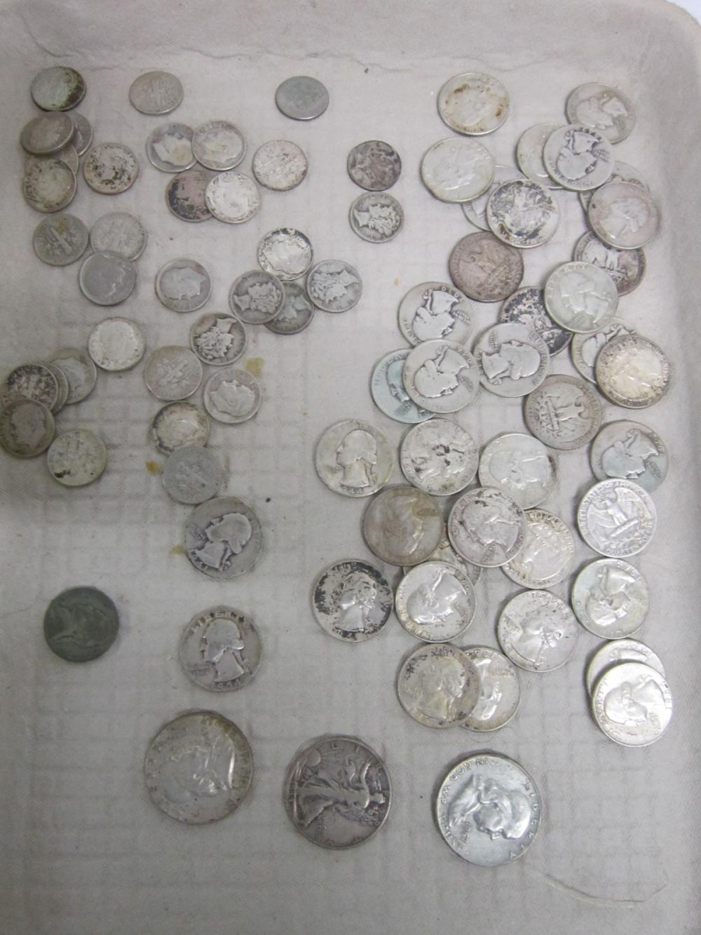 $14 in Silver Coins