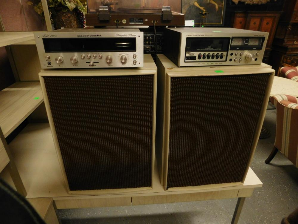 Marantz Stereophonic Receiver & Components
