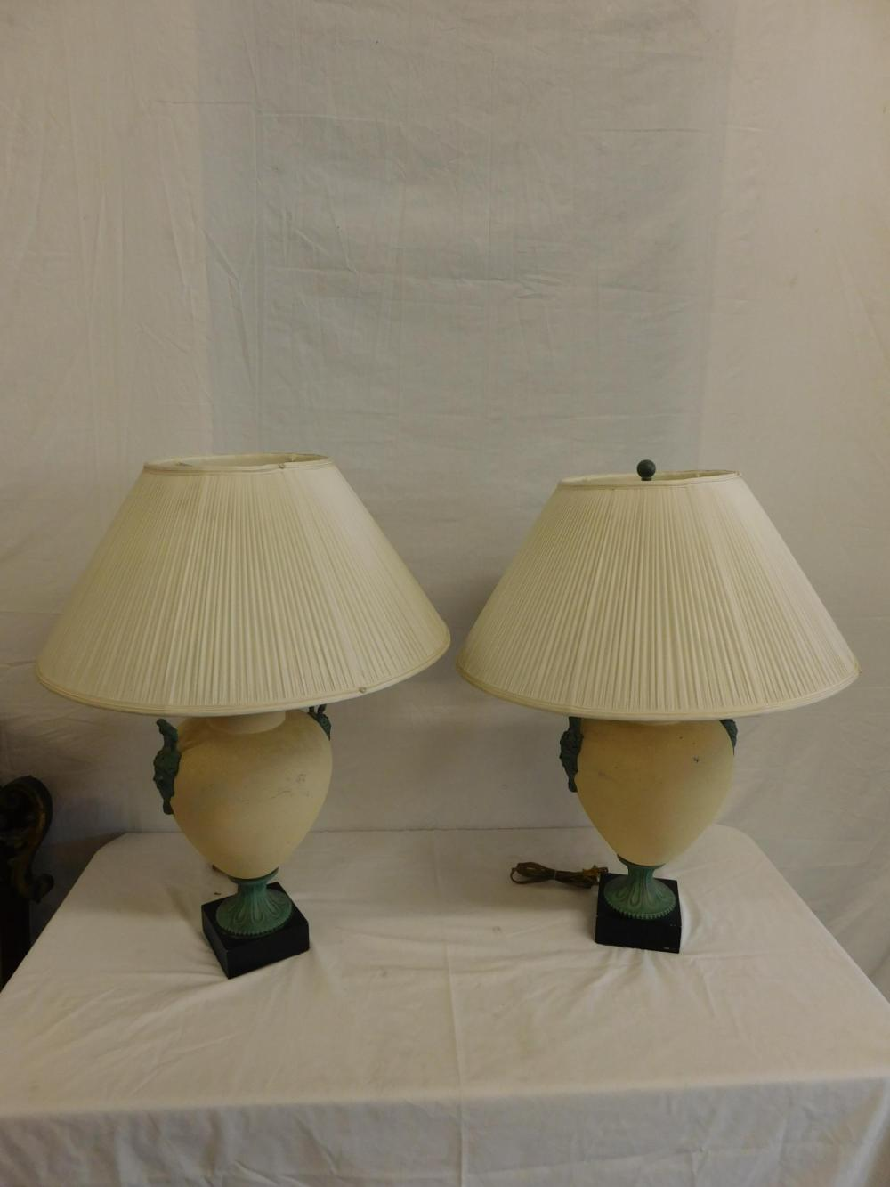 Pr Urn Form Table Lamps