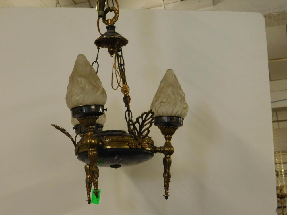 French Empire Style Hall Chandelier