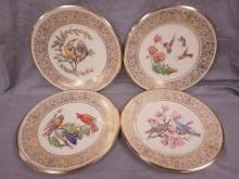 Set of 6 Lenox Boehm Bird Plates