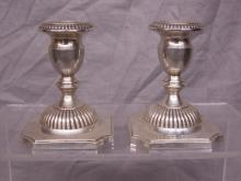 Pr Sterling Candlesticks