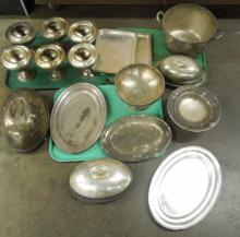 R. Wallace Silver Soldered Hotel Ware 19 pcs