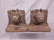Pr of Bull Dog Bookends