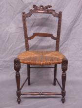 Antique French Provincial Doll's Chair