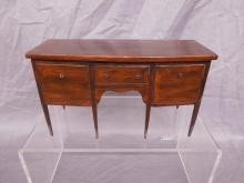 Federal Style Sideboard-form Jewelry Box