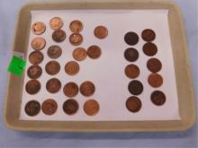 32 large pennies