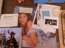 Celebrity & Personality Signed Items