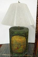 Toleware Canaster / Lamp