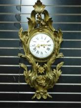 Richard,Paris, Bronze Wall Clock