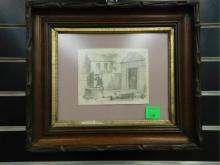 19th C. Pencil Drawing
