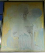 Maffia Signed o/c Portrait of Woman