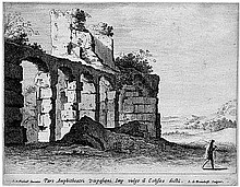 Bronchorst, Jan Gerritsz. van: Die Ruinen des Colosseums